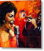 Jazz Song Metal Print