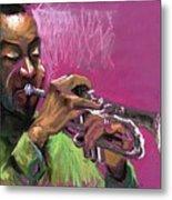 Jazz Trumpeter Metal Print