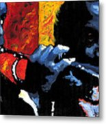 Jazz Trumpeters Metal Print