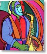 Jazzin #3 Metal Print