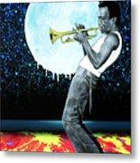 Jazzman Metal Print