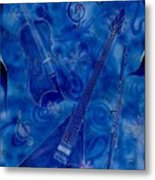 Jazzy And Icy Metal Print