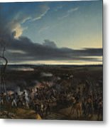 Jean Horace Vernet   The Battle Of Montmirail Metal Print