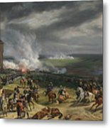 Jean Horace Vernet   The Battle Of Valmy Metal Print