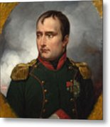 Jean Horace Vernet   The Emperor Napoleon I Metal Print
