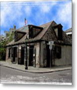 Jean Lafitte The Blacksmith Metal Print