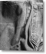Jeans Metal Print