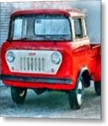 Jeep 1959 Fc150 Forward Control Pickup Metal Print
