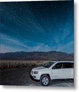 Jeep Under The Stars Metal Print