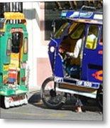 Jeepney 09 Metal Print