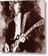 Jeff Beck - 01 Metal Print