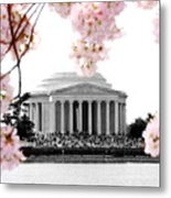 Jefferson In Spring Metal Print