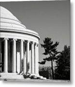 Jefferson Memorial Building In Washington Dc Metal Print