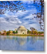 Jefferson Memorial Metal Print