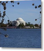Jefferson Monument Metal Print