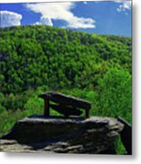 Jefferson Rock  Metal Print