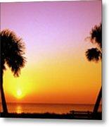 Jekyll Island Sunrise Metal Print