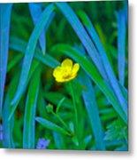 Jellow Flower Metal Print