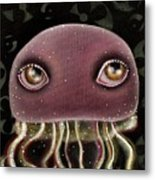 Jellyfish Metal Print by  Abril Andrade Griffith