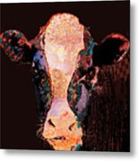 Jemima The Cow Metal Print