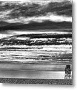 Jennings Beach, Fairfield Metal Print