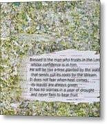 Jeremiah 17 Metal Print