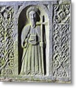 Jerpoint Abbey Weepers Saints James Philip And Matthias County Kilkenny Ireland Metal Print