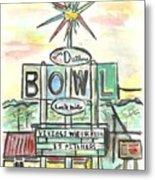 Jerry Dutler's Bowl Metal Print