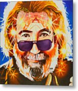 Jerry Garcia-dark Star Metal Print