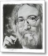 Jerry Garcia Metal Print