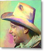 Jerry Jeff The Gypsy Songman Metal Print by GCannon