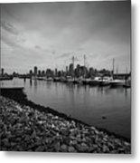 Jersey City Yacht Club Metal Print