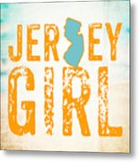 Jersey Girl Metal Print