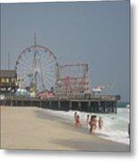 Jersey Shore Summer Metal Print