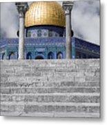 Jerusalem - The Dome Metal Print