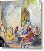 Jerusalem Cafe Metal Print