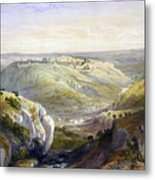 Jerusalem From The South Metal Print