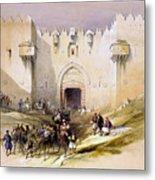 Jerusalem Gate Metal Print
