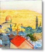 Jerusalem In 1899 Metal Print