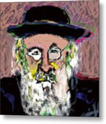 Jerusalem Man No. 2 Metal Print