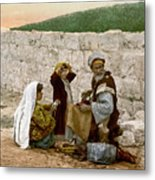 Jerusalem Shoemaker, C1900 Metal Print