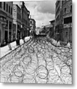 Jerusalem: Street, 1948 Metal Print