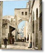 Jerusalem: Via Dolorosa Metal Print