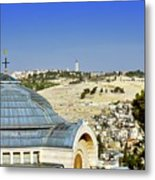Jerusalem View Metal Print