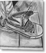 Jessicas Sneakers Metal Print