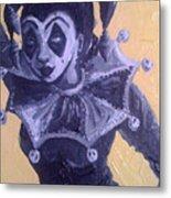 Jester Girl #1 Metal Print
