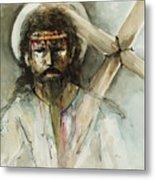 Jesus 3 Metal Print