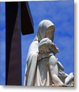 Jesus And Maria Metal Print