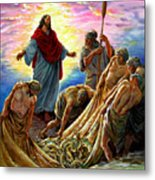 Jesus Appears To The Fishermen Metal Print