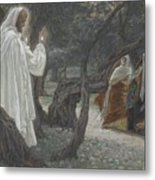 Jesus Appears To The Holy Women Metal Print